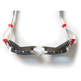 Zoggs Predator Flex Goggles L, silver/grey/blue tint